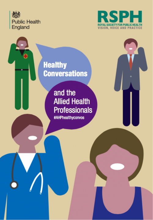 The Royal Society for Public Health and Public Health England have released the 'AHPs and Healthy Conversations' report