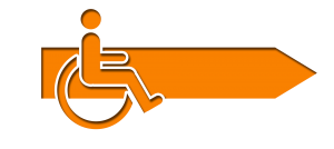 Image showing wheelchair logo