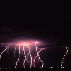 Image showing lightning storm