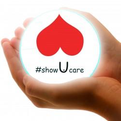 #showucare - image hands demonstrating care