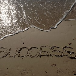 Image showing the word 'success'